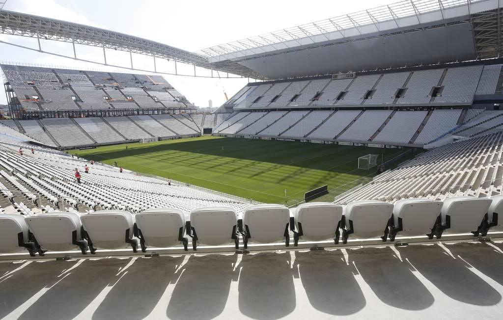 Arena Corinthians in Sao Paulo, Brasilien