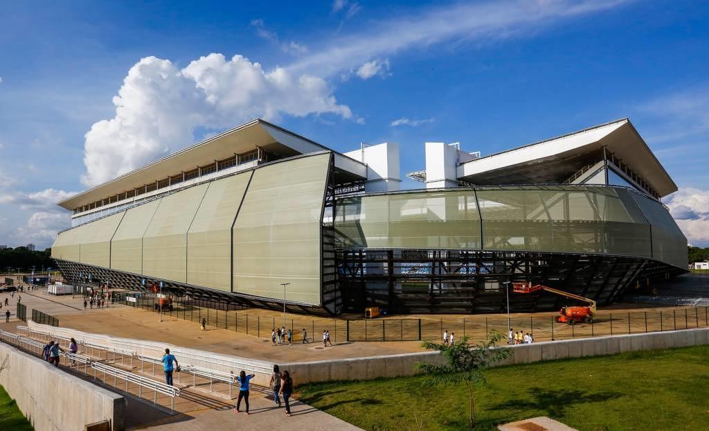 Arena Pantanal in Cuiabá, Brasilien