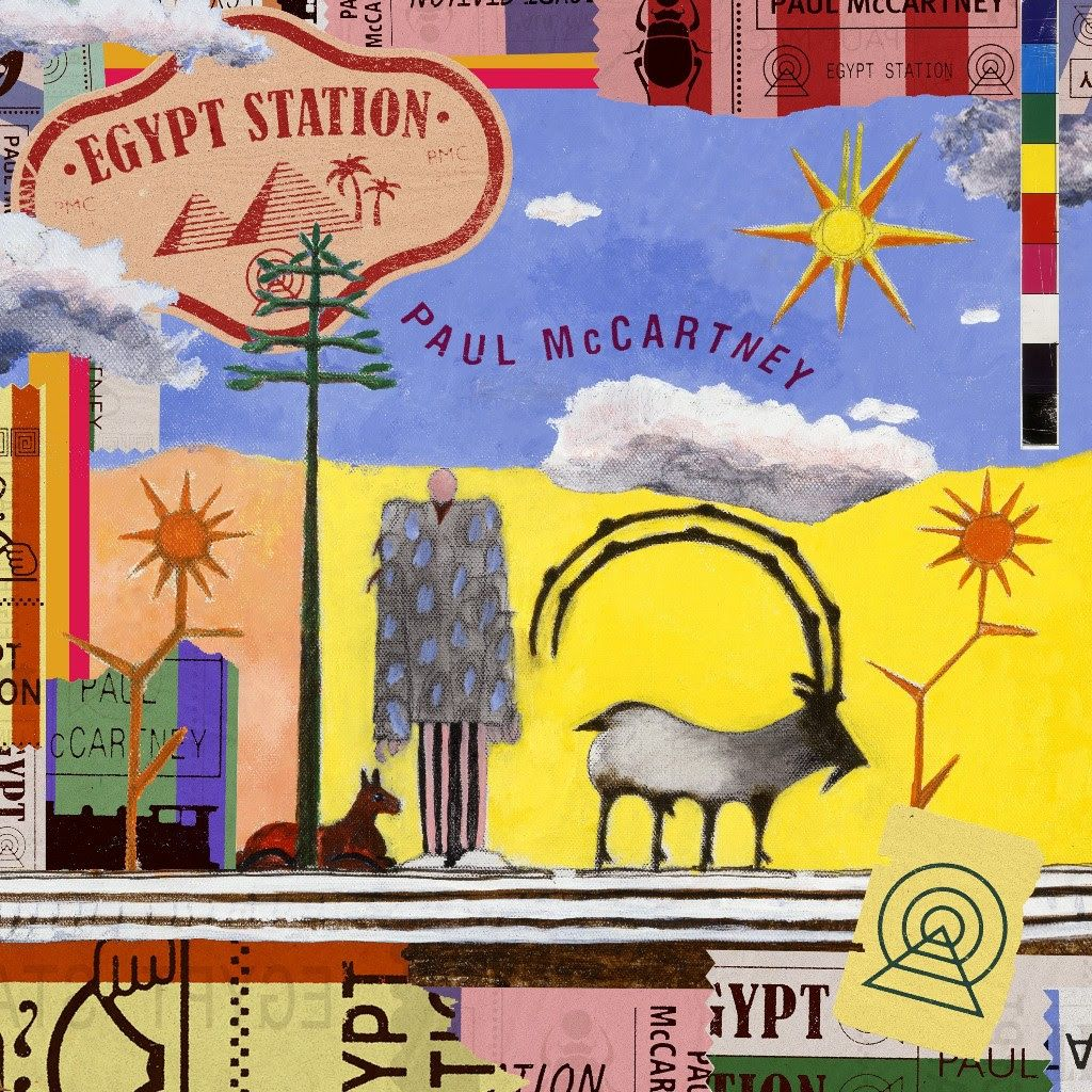 Paul McCartney, Egypt Station, Cover