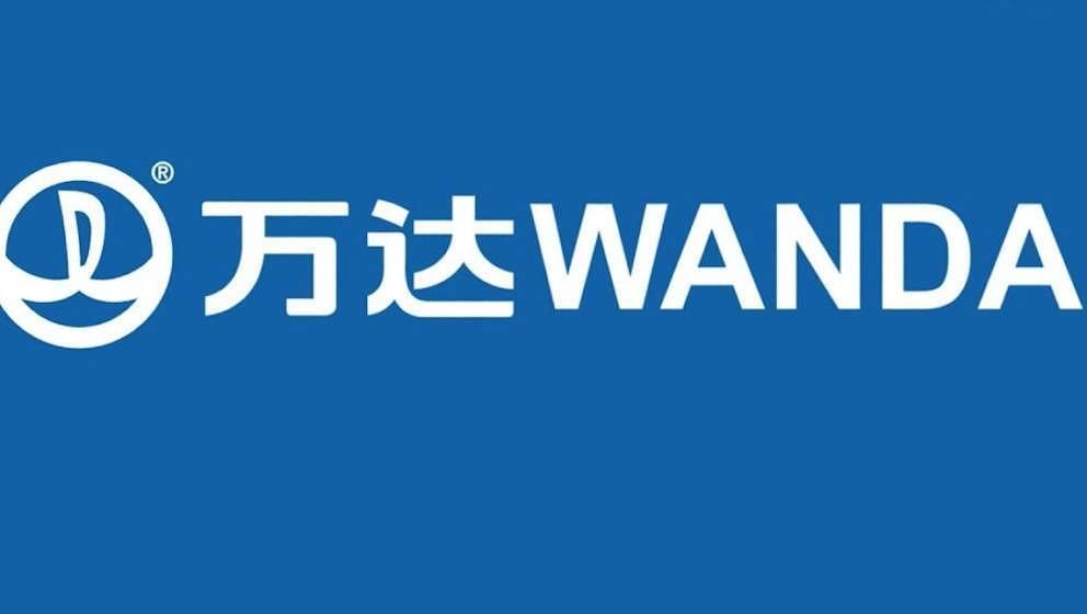 Das Logo der Wanda-Gruppe aus China.