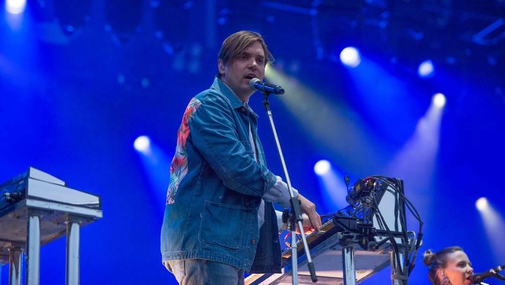 24.06.2018, Eichenring , Scheessel, GER, Festival, Konzert,Hurricane, Band  im Bild#Arcade FireFoto © Rojahn