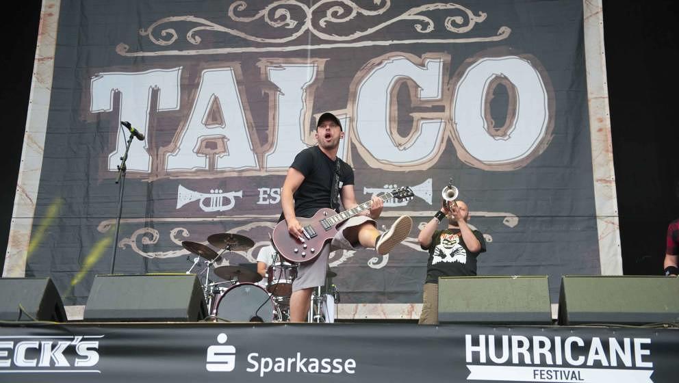 24.06.2018, Eichenring , Scheessel, GER, Festival, Konzert,Hurricane, Band  im Bild#TalcoFoto © Rojahn