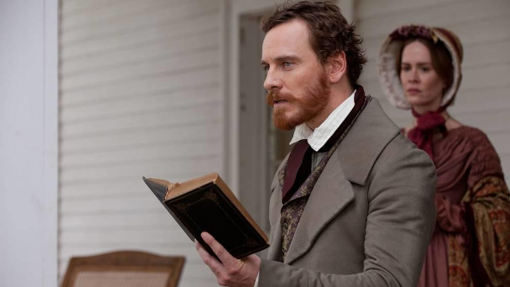 "Michael Fassbender in ""12 Years a Slave""."