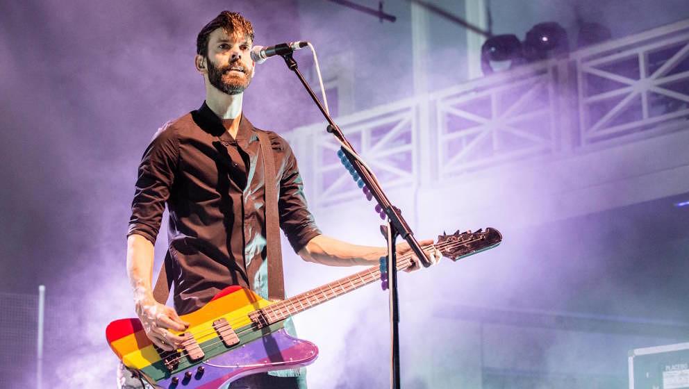 Stefan Olsdal mit Placebo live in Birmingham 2015