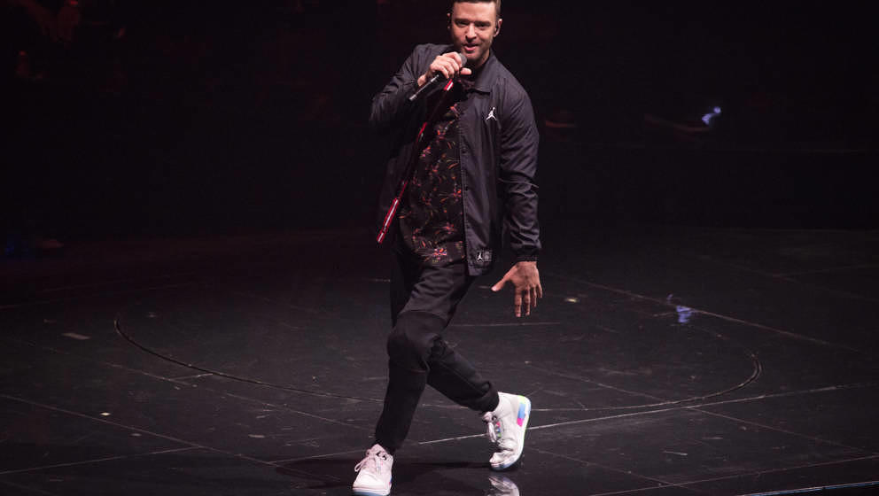 Justin Timberlake live am 3. Juli 2018 in Paris