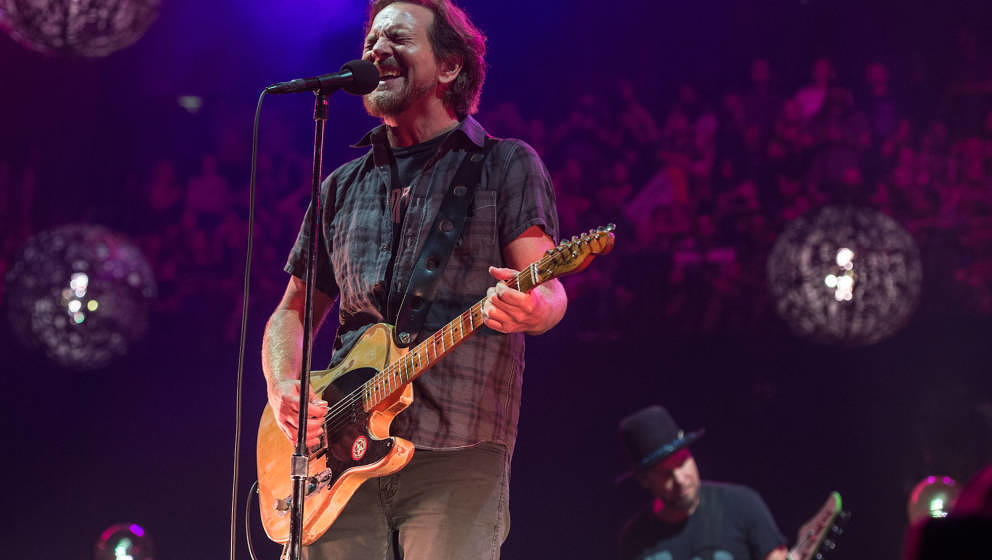 Eddie Vedder mit Pearl Jam live am 18.Juni 2018 in London