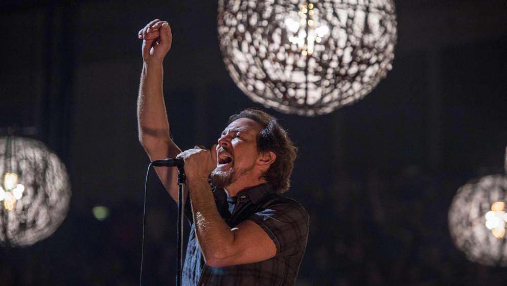 Jede Tour ein Siegeszug: Eddie Vedder und Pearl Jam, hier live am 18. Juni 2018 in London