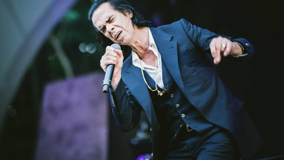 Nick Cave in der Berliner Waldbühne