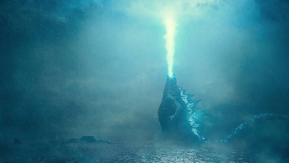 Jede Wette: Hier holt Godzilla Mothra vom Himmel.