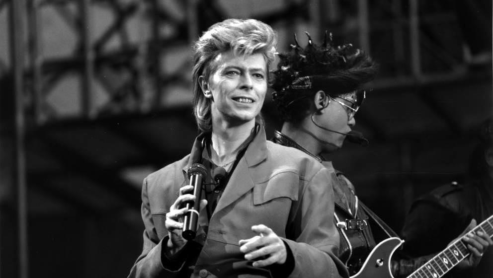David Bowie in den 80er-Jahren