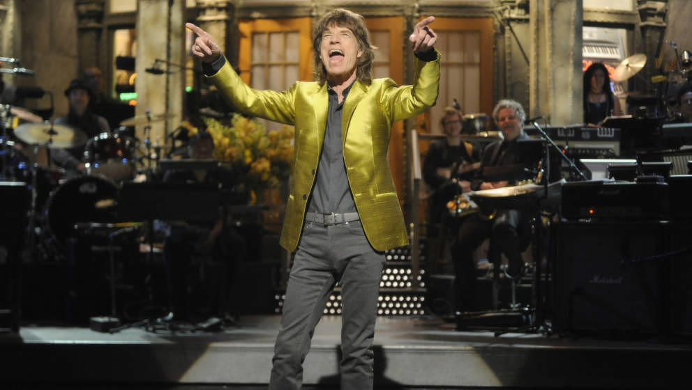 SATURDAY NIGHT LIVE -- 'Mick Jagger' Episode 1620 -- Pictured: Mick Jagger -- (Photo by: Dana Edelson/NBC/NBCU Photo Bank via