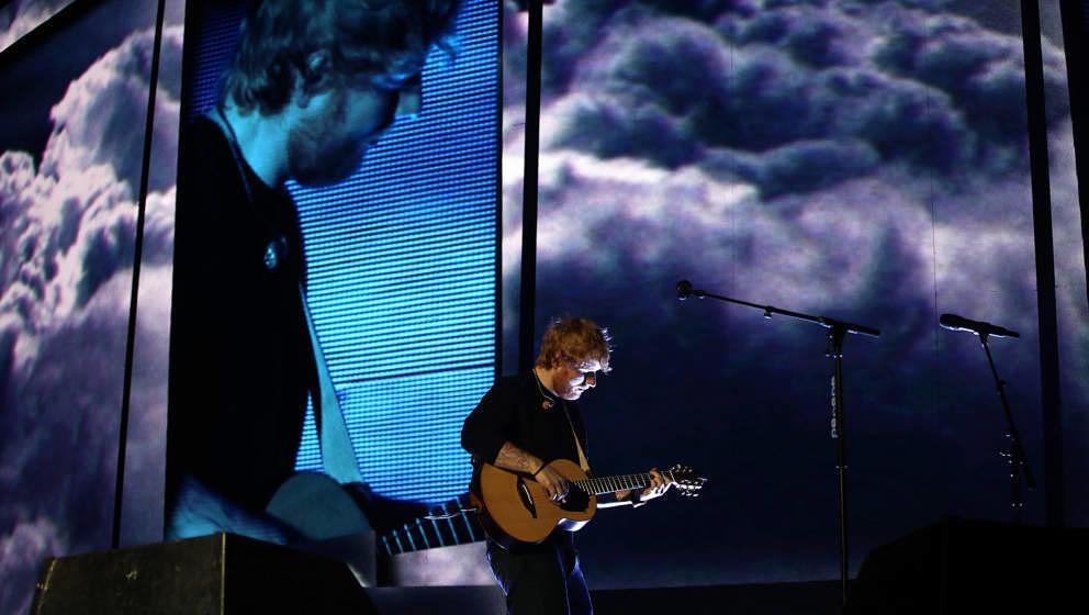 Ed Sheeran, hier live in Auckland 2018