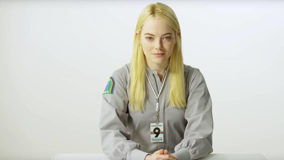 "Emma Stone in ""Maniac""."