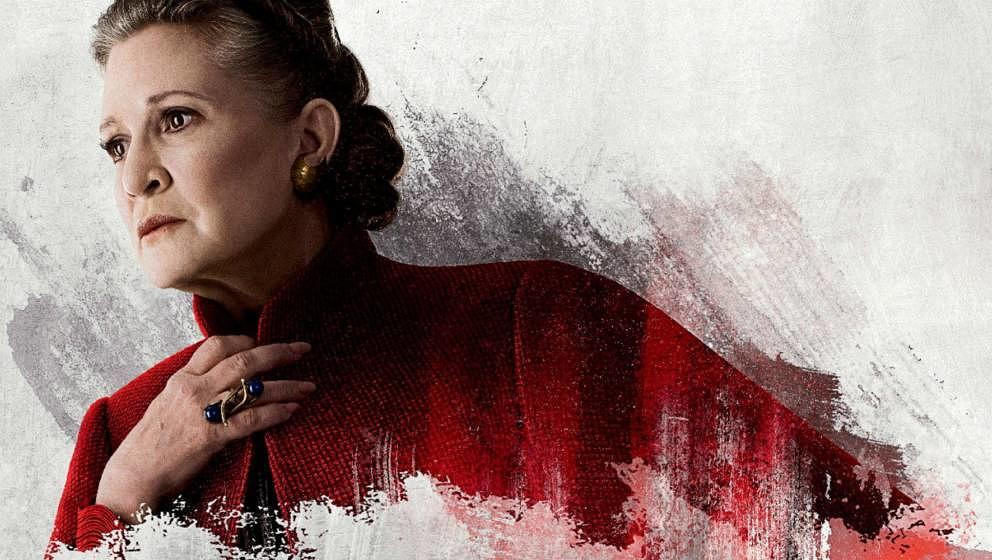 Carrie Fisher als Leia.