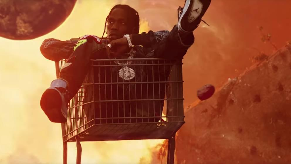Travis Scott in seinem neuen Video zu Astroworld