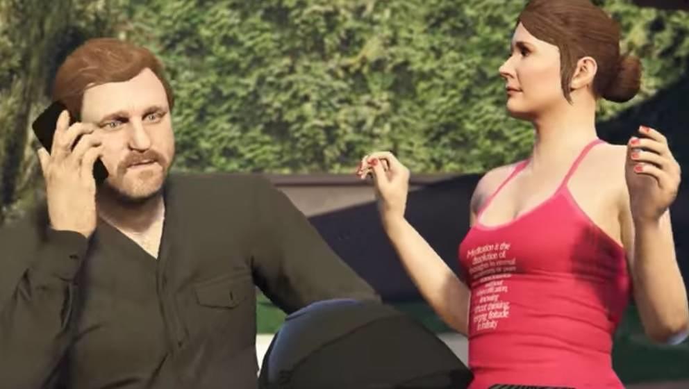 Nicht ablenken lassen: DJ Solomun als Actionheld in GTA V