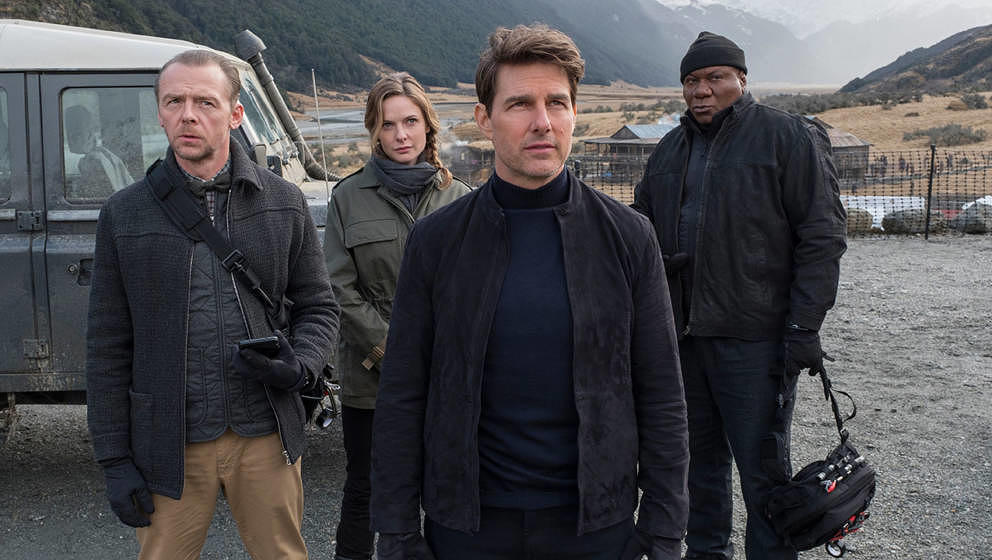 "Ethan Hunt und sein Team in ""Mission: Impossible - Fallout"""