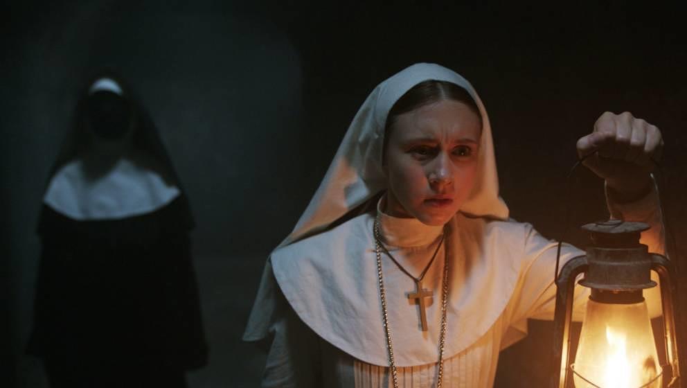 "Szene aus ""The Nun""."