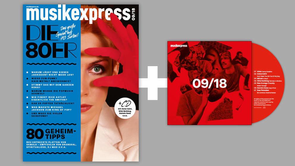 Die ME-Ausgabe 9/2018 – mit CD