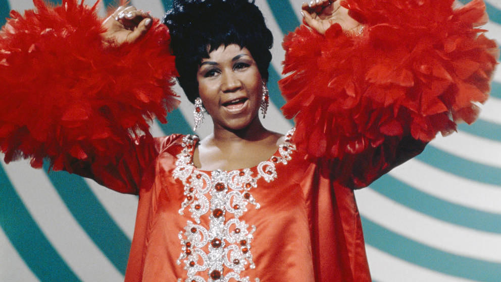 THE ANDY WILLIAMS SHOW -- Aired 5/4/69 -- Pictured: Aretha Franklin  (Photo by Fred A. Sabine/NBC/NBCU Photo Bank via Getty I
