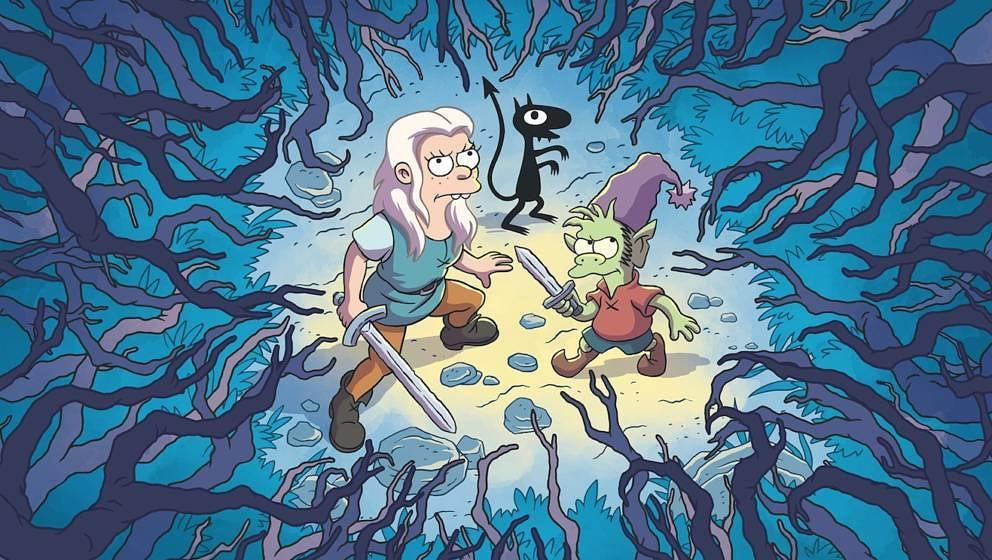 """Die neue Serie des """"Simpsons""""-Schöpfers läuft exklusiv bei Netflix."""