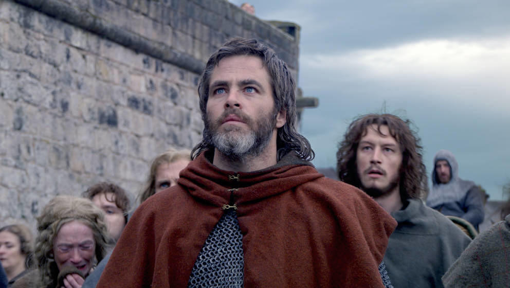 "Chris Pine in ""Outlaw King""."