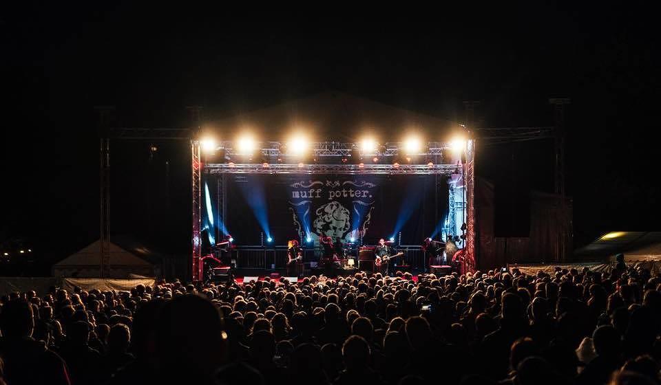 Muff Potter live beim Jamel rockt den Förster Festival  am 25. August 2018