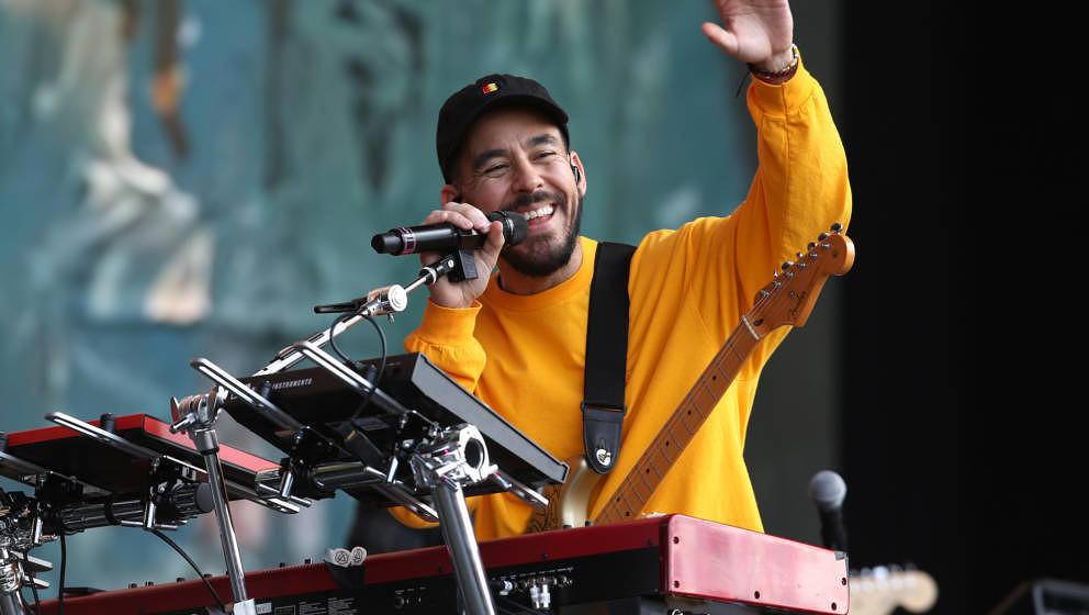 Mike Shinoda beim Reading Festival 2018