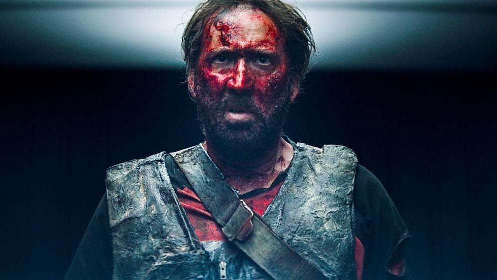 """Nicolas Cage in """"Mandy""""."""