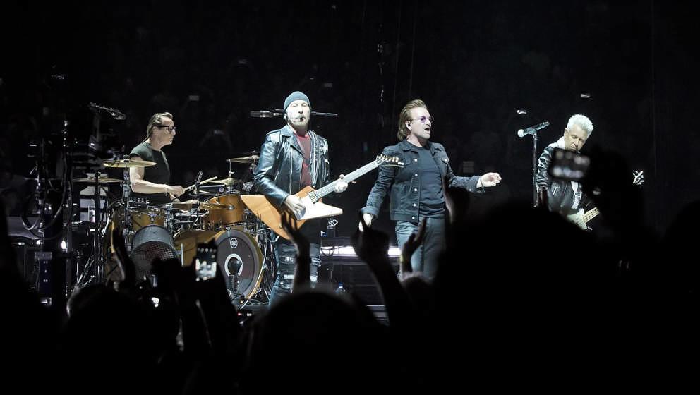 Hier funktionierte Bonos Stimme noch: U2 am 31. August 2018 in Berlin