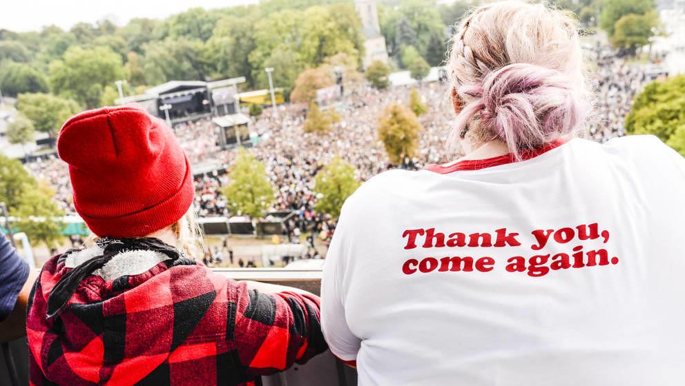 65.000 Zuschauer besuchten in Chemnitz das Soli-Konzert.