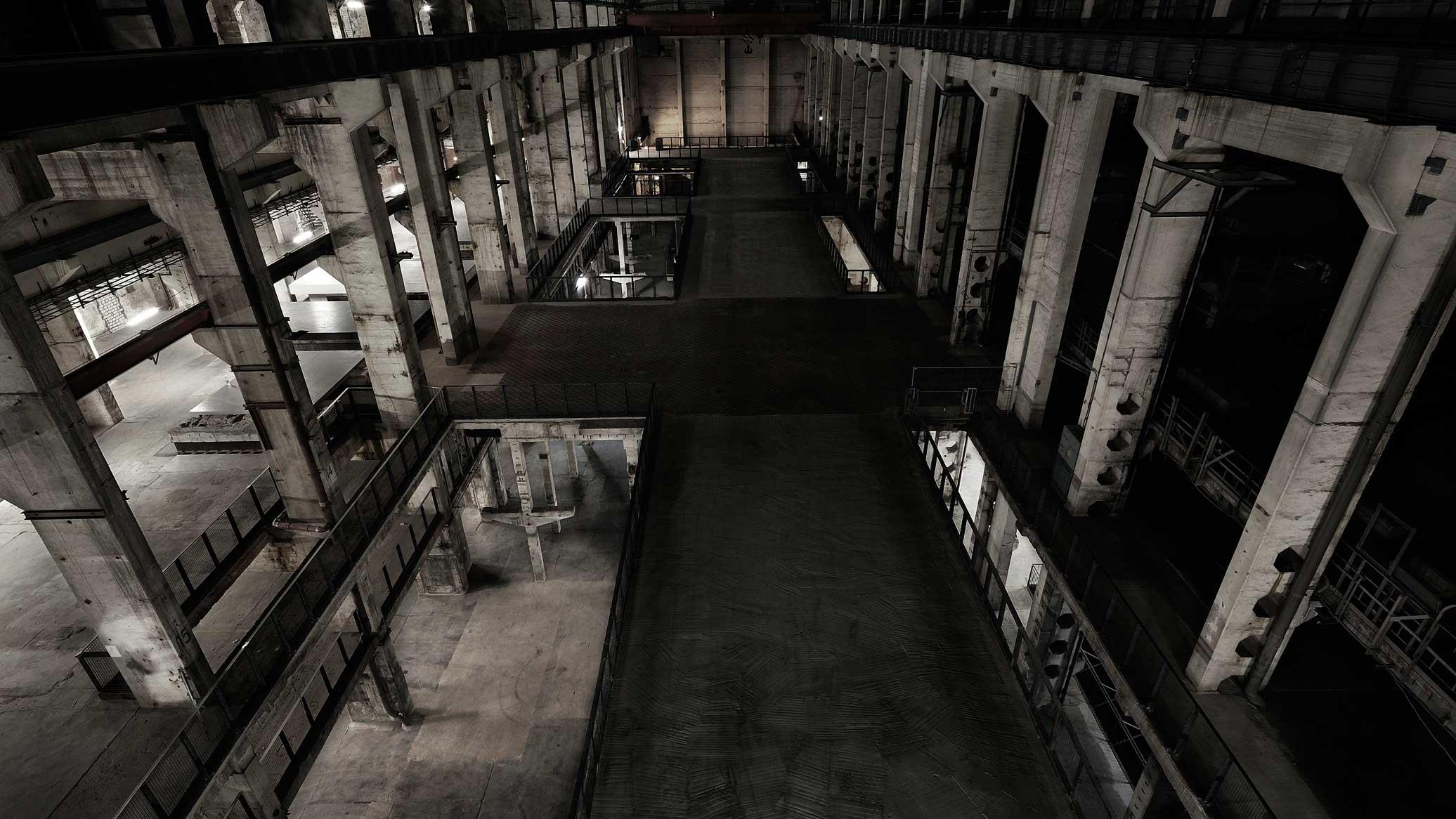 Der Tresor in Berlin war mal ein altes Heizkraftwerk.