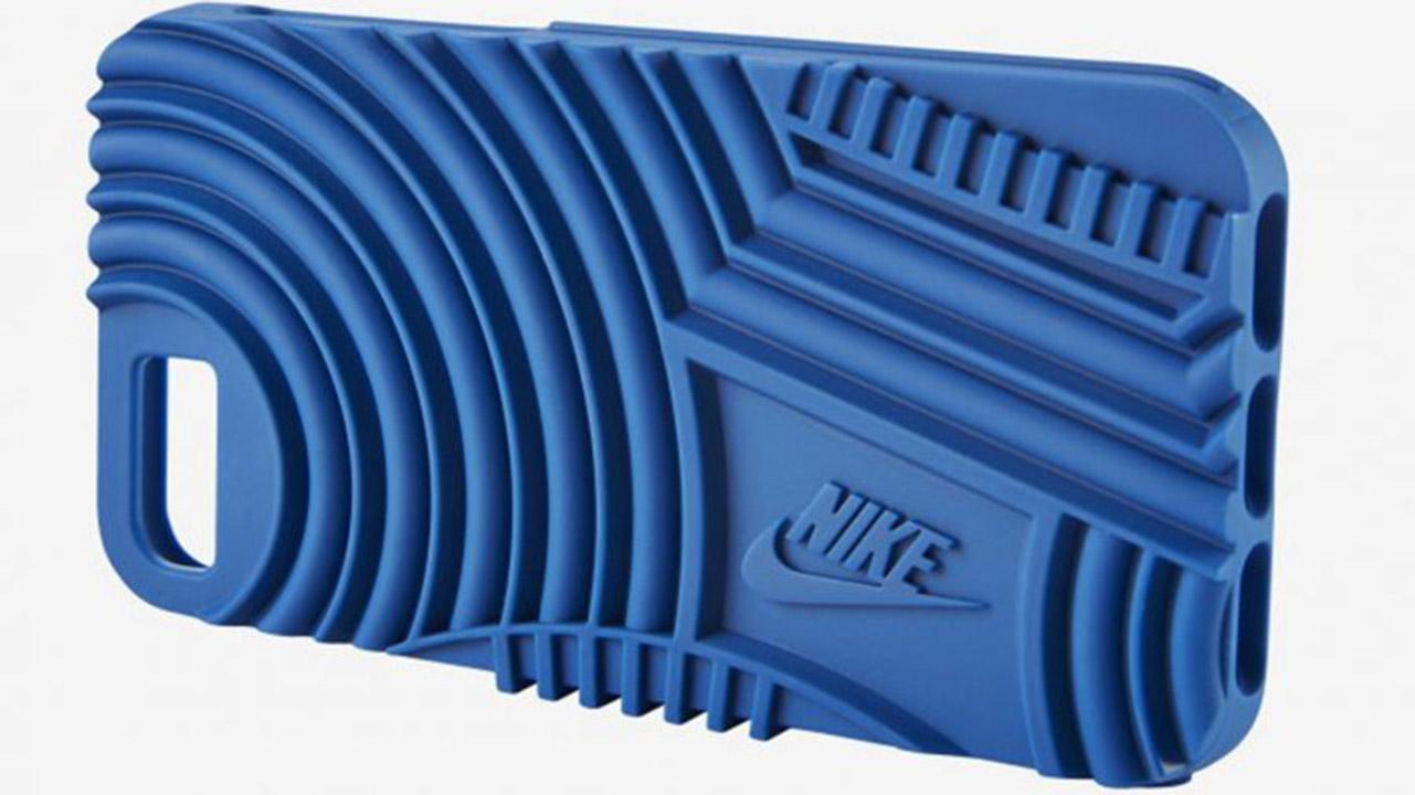 Die iPhone-Hülle von Nike bietet Grip für die Hände und Augen.