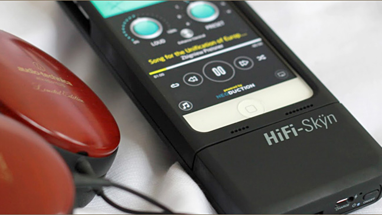 """""""HiFi Skÿn"""" ist die iPhone-Hülle für Leute, die Wert auf guten Sound legen."""