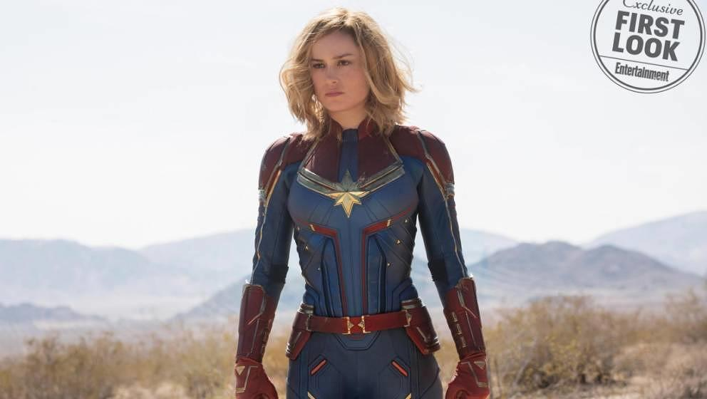 Brie Larson als Captain Marvel.