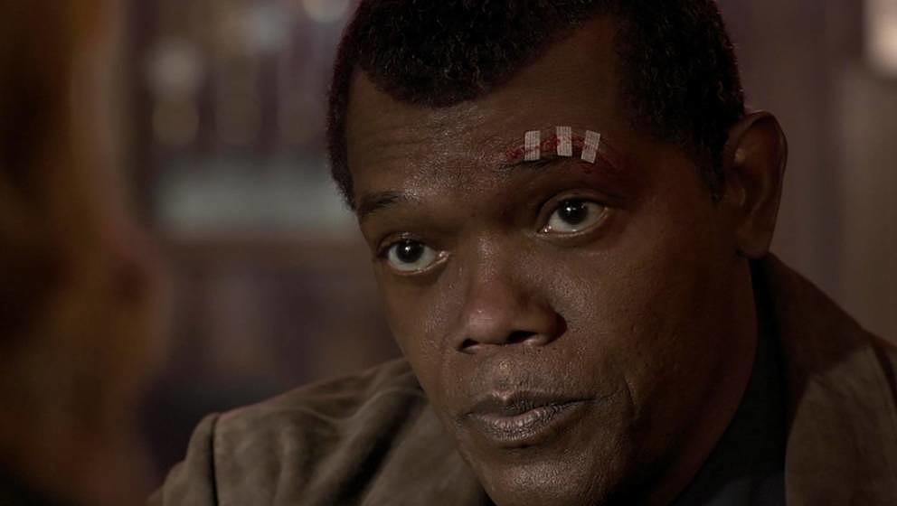 Samuel L. Jackson wurde digital verjüngt.