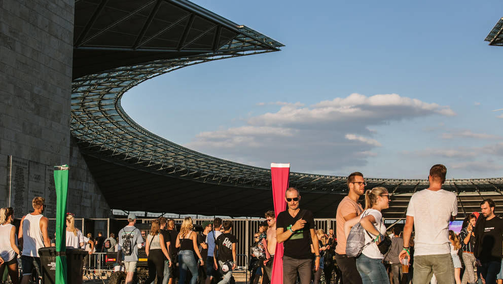 Publikum beim Lollapalooza Berlin 2018