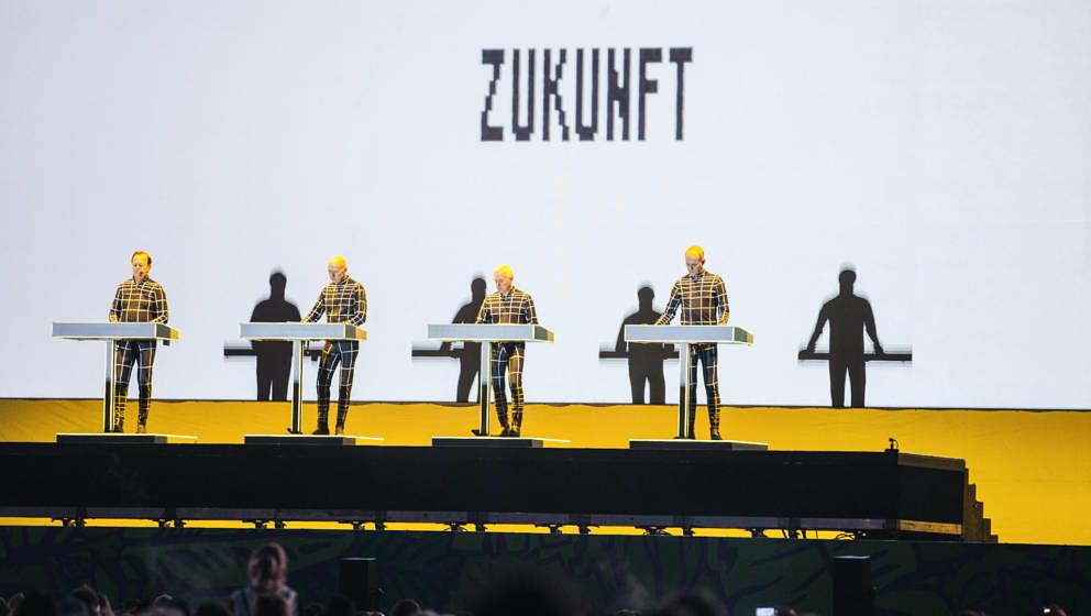 Kraftwerk beim Lollapalooza Berlin 2018
