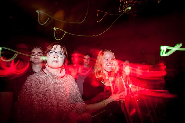 Besucher beim Iceland Airwaves 2017
