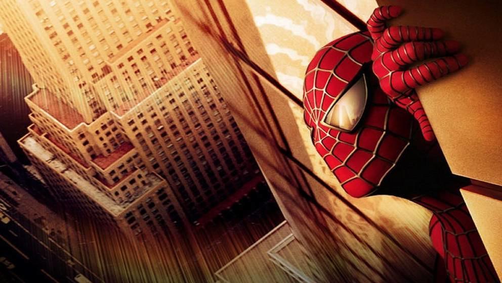 """Dieses Bild zu """"Spider-Man"""" wurde nach den Attacken von New York zurückgezogen. In den Augen der Figur spiegelt sich das"""