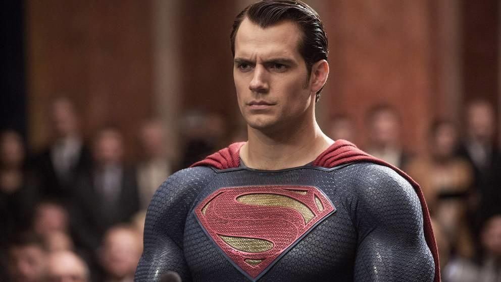 Hanry Cavill als Superman.