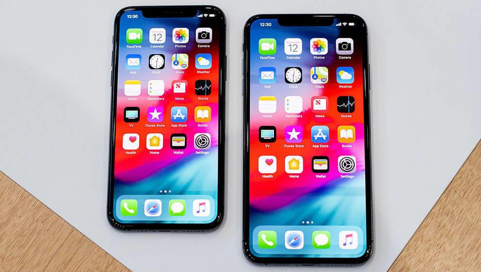 Bei den neuen iPhones (hier iPhone XS und XS Max) ist kein Klinken-Adapter mehr dabei
