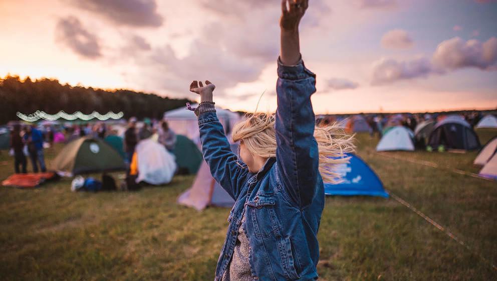 Bluetooth-Lautsprecher dürfen nicht fehlen auf dem Campingplatz.