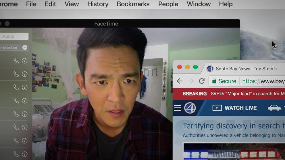 """John Cho sucht in """"Searching"""" als verzweifelter Vater nach seiner Tochter."""