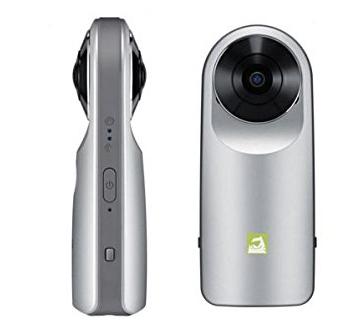 Mit der LG 360 Cam könnt Ihr 360-Grad-Videos drehen und 5.1-Surround-Sound hören.