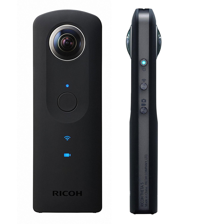 Mit der übersichtlichen App zur Ricoh Theta S könnt Ihr auch in schwierigen Lichtverhältnissen weiter filmen und fotografieren.