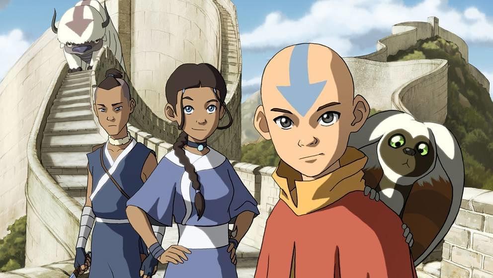 """Szene aus der Zeichentrickserie """"Avatar""""."""