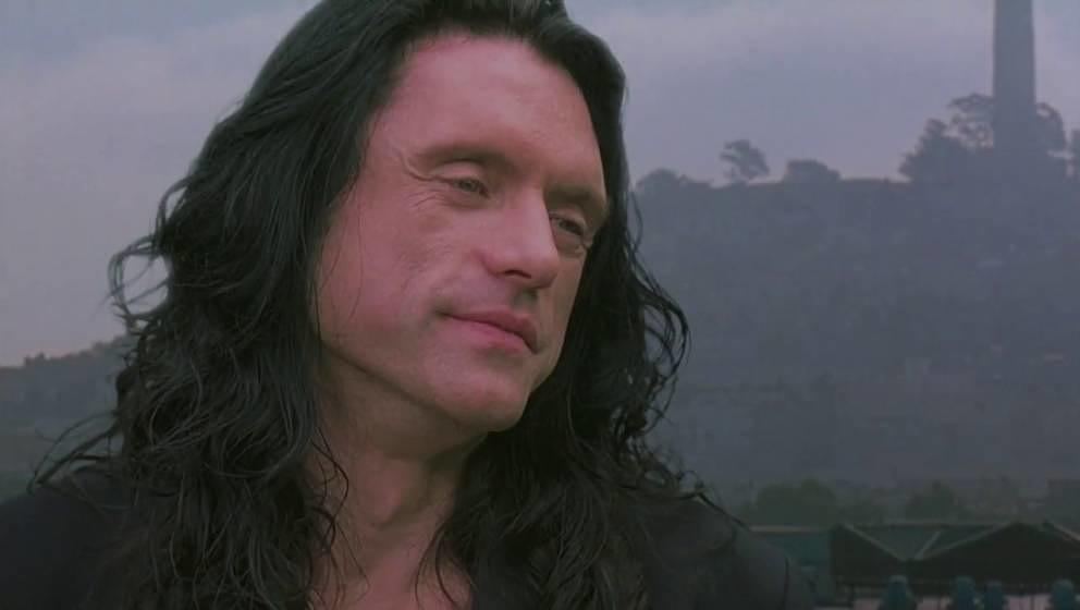 "Tommy Wiseau in ""THe Room""."