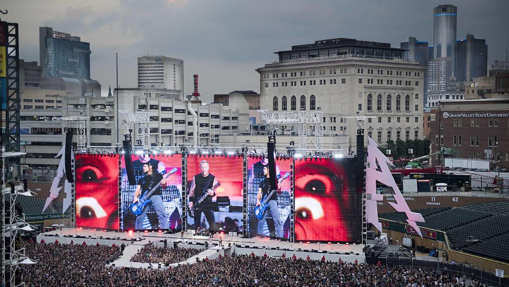 Dürfte auch 2019 ein Spektakel werden: Metallica live