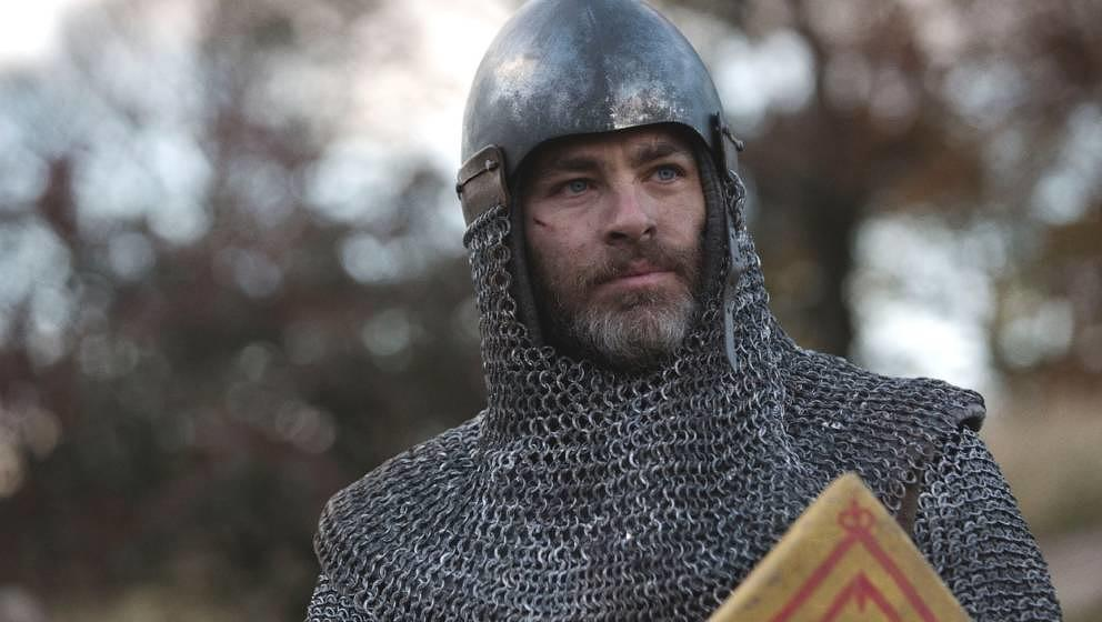 "Chris Pine in ""Outlaw King"""